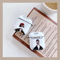 Leon matilda white airpods case