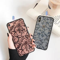 Lace glitter iphone case