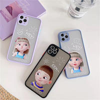 Hey girl boy color side iphone case