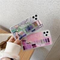 Makeup quicksand iphone case