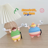 Fatty boy girl airpods case