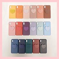 Heart color chip case