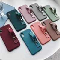 Autumn color strap iphone case