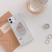 Hey mirror clear iphone case