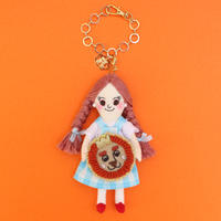 Wizard of Oz / Dorothy × Lion Doll Charm