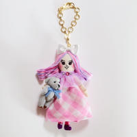Mini Bear Friend Doll Charm
