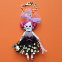 Sparkle Dress Doll Charm