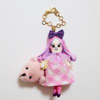 Big Bear Hand Bag Doll Charm