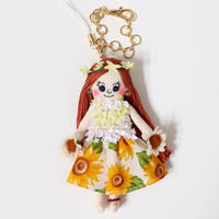 Sunflower Doll Charm