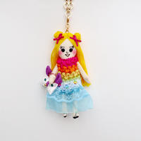 Tropical Fashion Doll Charm