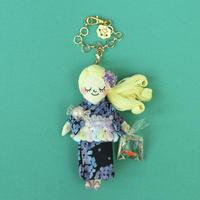 浴衣/Yukata Doll Charm(Hydrangea)