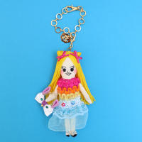 Tropical Fashion Doll Charm