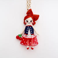 Cherry Fashion Doll Charm