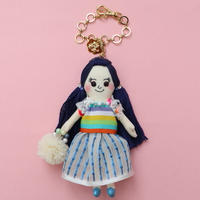 Happy Rainbow Doll Charm