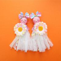 Rabbit/Heart Sequins Earrings