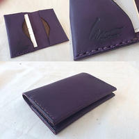 "Semi-custom made item ""cardcase"" #ELBAMATT"