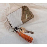 Coin purse with key