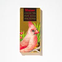 【スタイナー】ピンクコショウ入り70%チョコタブレット