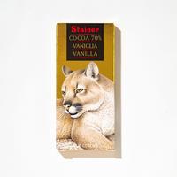 【スタイナー】バニラ入り70%チョコタブレット