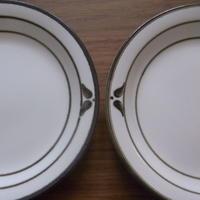 【ROR014】Rörstrand(ロールストランド): NORDICA(ノルディカ)ケーキプレート2枚セット(コンディションB)