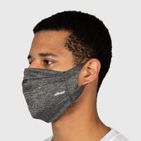 OFFICIAL Performance Face Mask #H.GREY   *不織布入り3層マスク