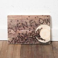Honey BEACH HOUSE掲載 EF WOODPLATE #COFFEE