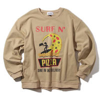 SURF N' PIZZA  CREW   #CAMEL by  PALM/STRIPES