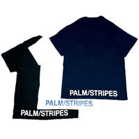 B/S LOGO TEE by  PALM/STRIPES