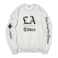 L.A.  TIMES CREW  by  PALM/STRIPES
