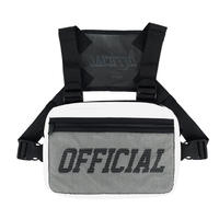 OFFICIAL  MELROSE CHEST BAG #white