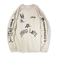 AMARU  SHAKUR  TATOO  TEE  by  PALM/STRIPES