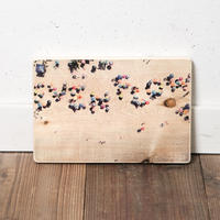 Honey BEACH HOUSE掲載 EF WOODPLATE #BEACH