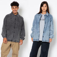 DENIM  EDDIE  JACKET  by  PALM/STRIPES