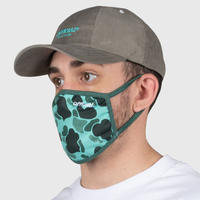 OFFICIAL  FACE MASK DUCK CAMO  #Green
