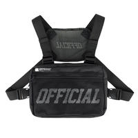 OFFICIAL  MELROSE CHEST BAG #black
