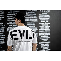 HUGE EVLT T-shirts (WHT)