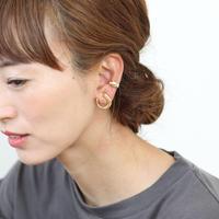 Horn Clip Earring(ゴールド) 【E52-332G】