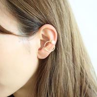 double pearl ear cuff【E58-311G】