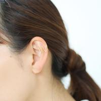 【9月号VoCE掲載】rhythm  ear cuff(ゴールド)  【E41-311G】