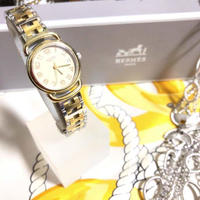 【HERMES】プルマン PU2.240 クオーツ腕時計 WH-516