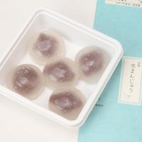 【タクシーde和菓子便】涼菓水まんじゅう