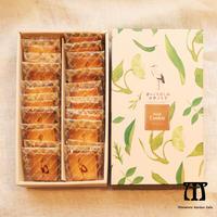 コウノトリクッキー【20枚入りBOX】☆赤いくちばしのコウノトリ