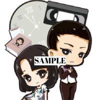 「RUN ver.3.0」アクリルキーホルダー【礼子・川藤・三浦】