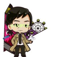 受注生産「RUN ver.3.0」アクリルキーホルダー【塩図希】