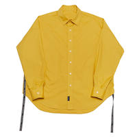 EXZ-LOGOTYPE LINE TAPE SHIRT/YELLOW/EZS0190001