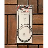 KnitPro Karbonz コード付き輪針  60cm