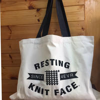 WESTKNITS RESTING KNIT FACE トートバッグ