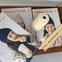 Miknits TO GO  no.1  アランのハニカムキャップ *こちらの商品は単独でお買いあげください