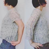 Noraneko kit     日本語プリントパターンと糸のセット *こちらの商品は単独でお求めください