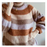 Linnea Sweater kit 糸と印刷パターン